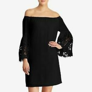 NWT Off Shoulder Bell Sleeve Cocktail Midi Dress